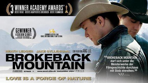 """Brokeback Mountain"" was adapted from the novel written by Annie Proulx."