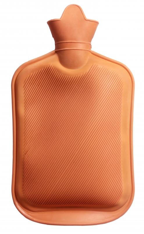 A hot water bottle may be placed against the ear to help melt ear wax and prepare it for removal.