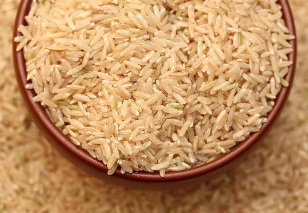Brown rice is rich in hyaluronic acid.