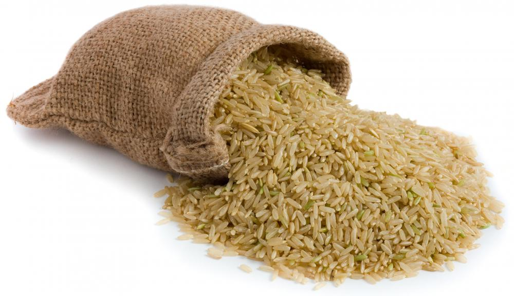 The fiber in brown rice can help lessen diarrhea.