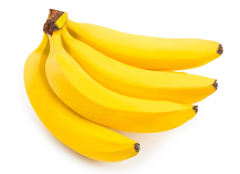 Bananas are a good source of vitamin B6.