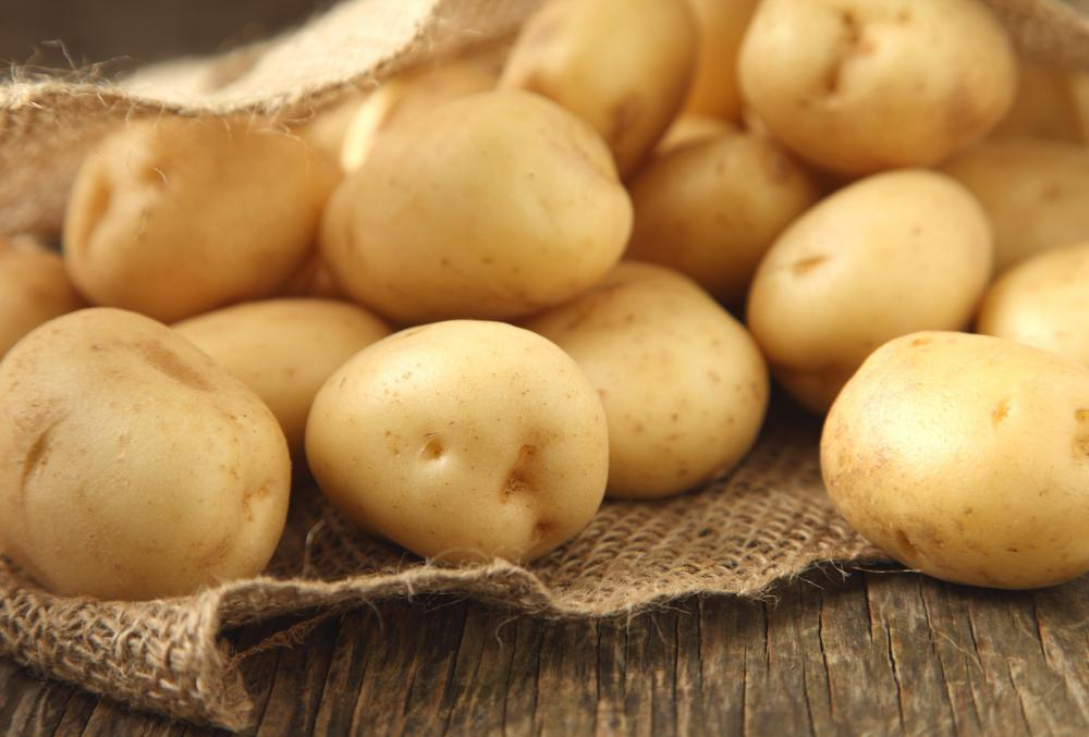 Potatoes are a natural source of dietary potassium.