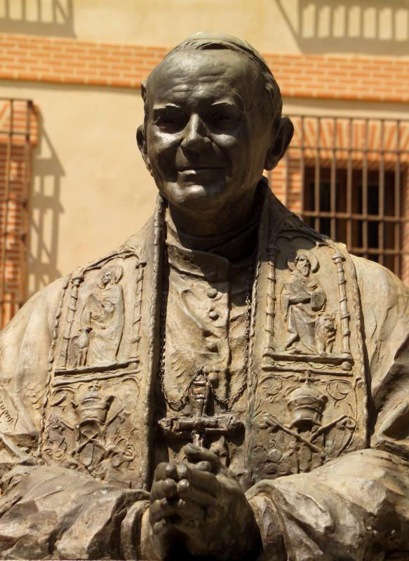 Pope John Paul II was a recent leader of the Roman Catholic Church.