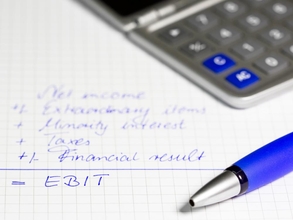 EBIT stands for Earnings Before Interest and Taxes.