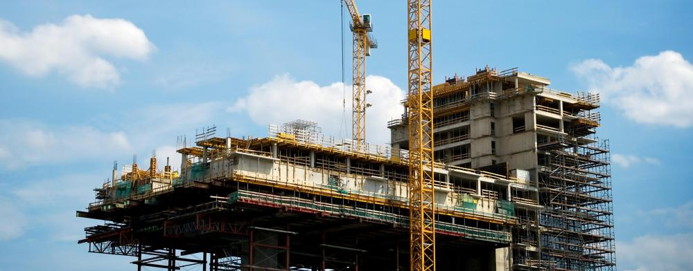 Commercial scaffolding is often made from steel pipe.
