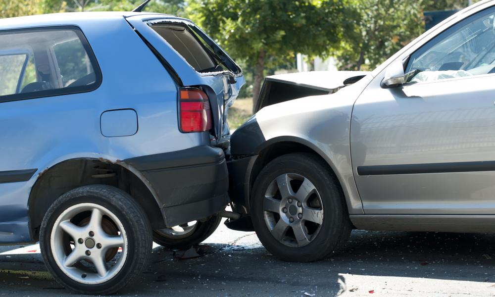 A person who is accused of damaging another person's car during an automobile accident may be a defendant in a court case.