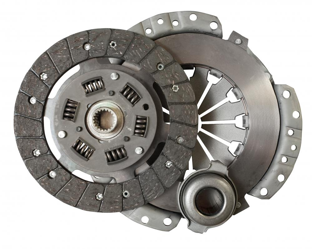 A clutch, part of a transmission.
