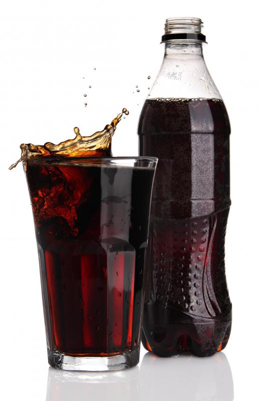 A diet soda containing aspartame.