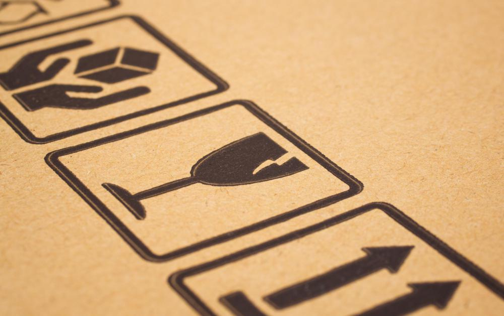 Most items use cardboard packaging as their first defense when shipping.