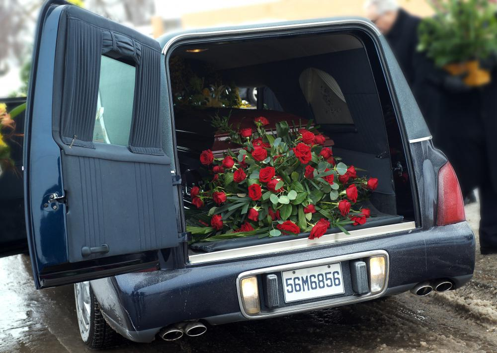 For funerals, an entire fleet of black limousines might be rented to follow the hearse.