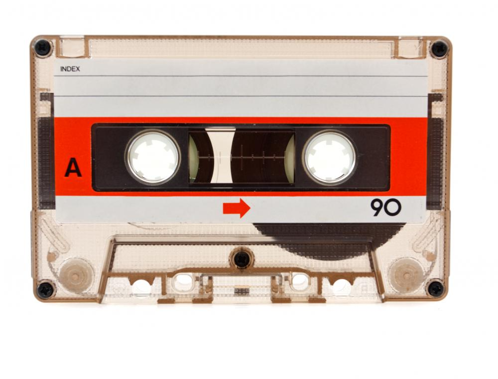 Cassette tapes were probably the most popular way to listen to music in the 80s.