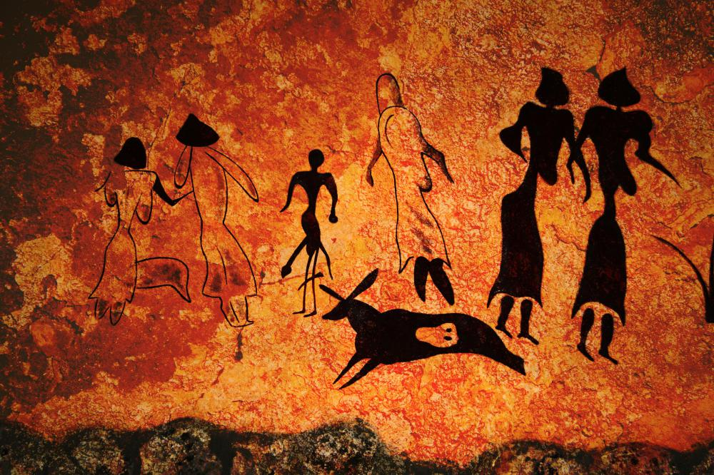 Some scientists posit that cave paintings may have been used for education.