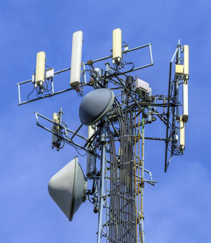 Cell towers provide coverage for cellular phone services that use GSM or CDMA protocols.