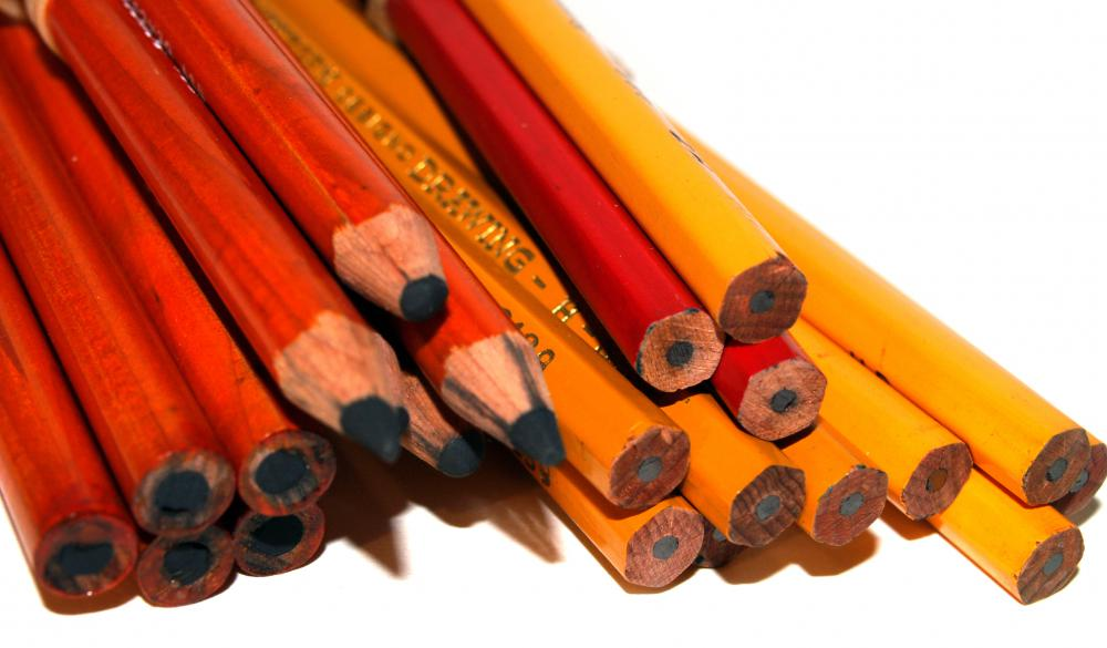 Charcoal pencils can be purchased in sets or individually, and are rated by hardness.