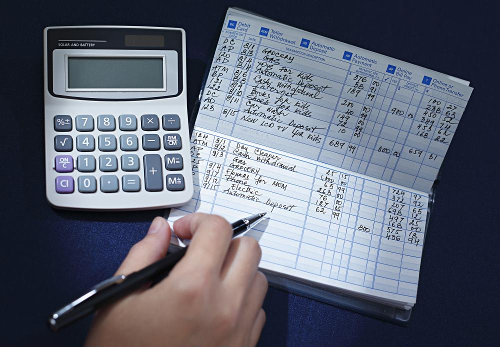 Making sure a checkbook is balanced gives a person a running balance of the account.