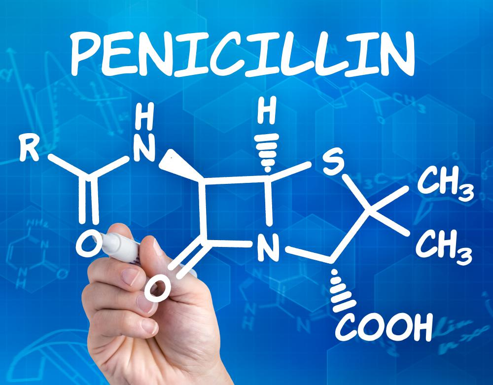 Penicillin was actually discovered by mistake.
