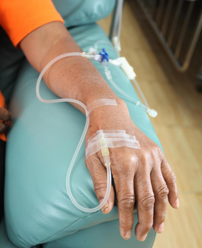 Chemotherapy is used to treat cancer but it can have a toxic effect on the body.