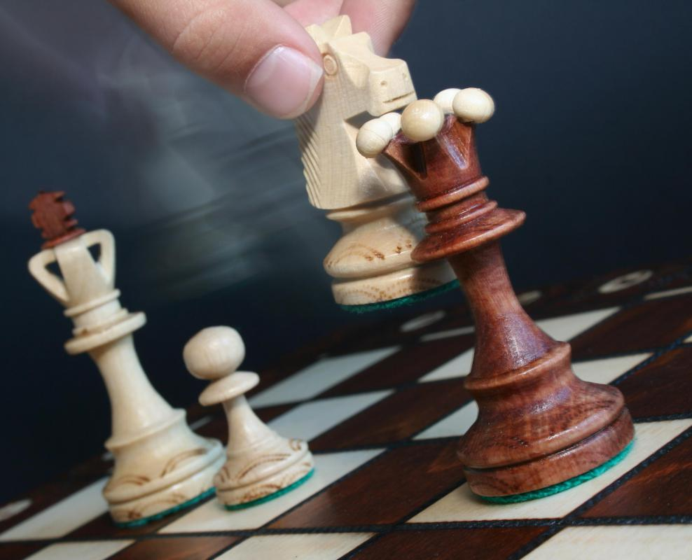 The Staunton chess set is probably the most popular in the world and the one used in tournament play.