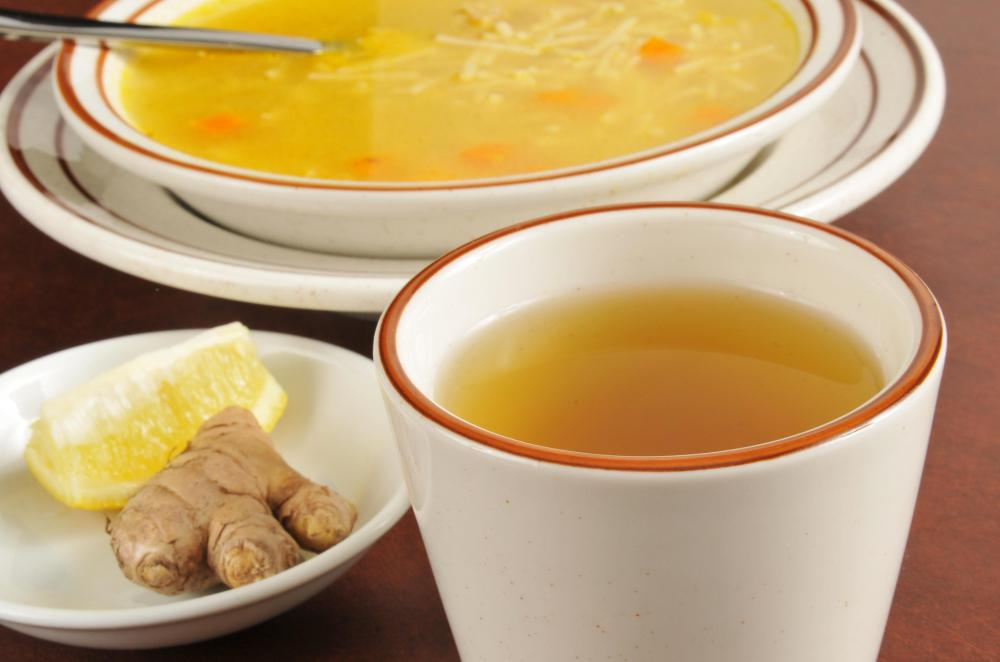 Ingesting fluids such as soup and tea while resting is the best approach to battle a viral infection.