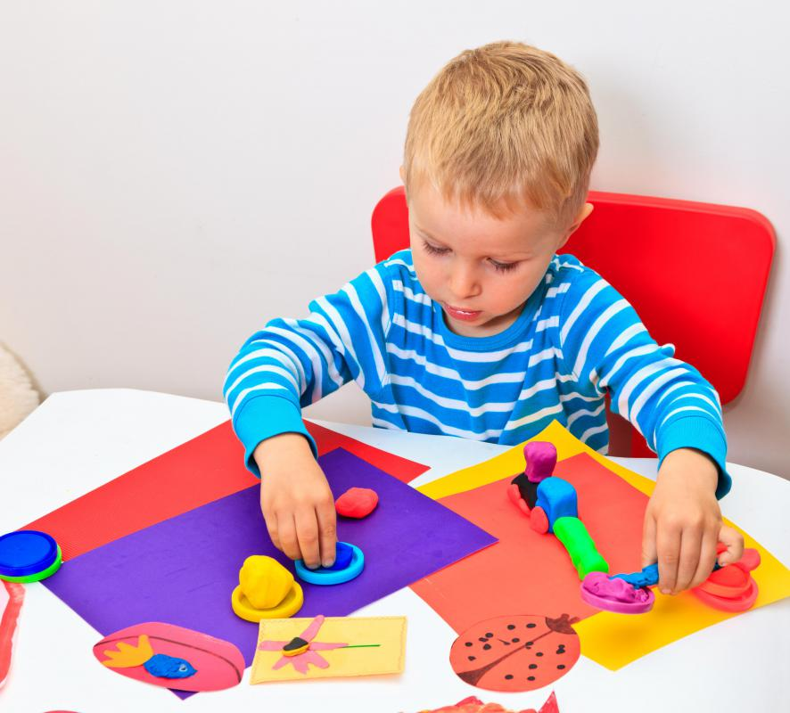 Art therapy is a form of experiential therapy that can be used to engage a small child.