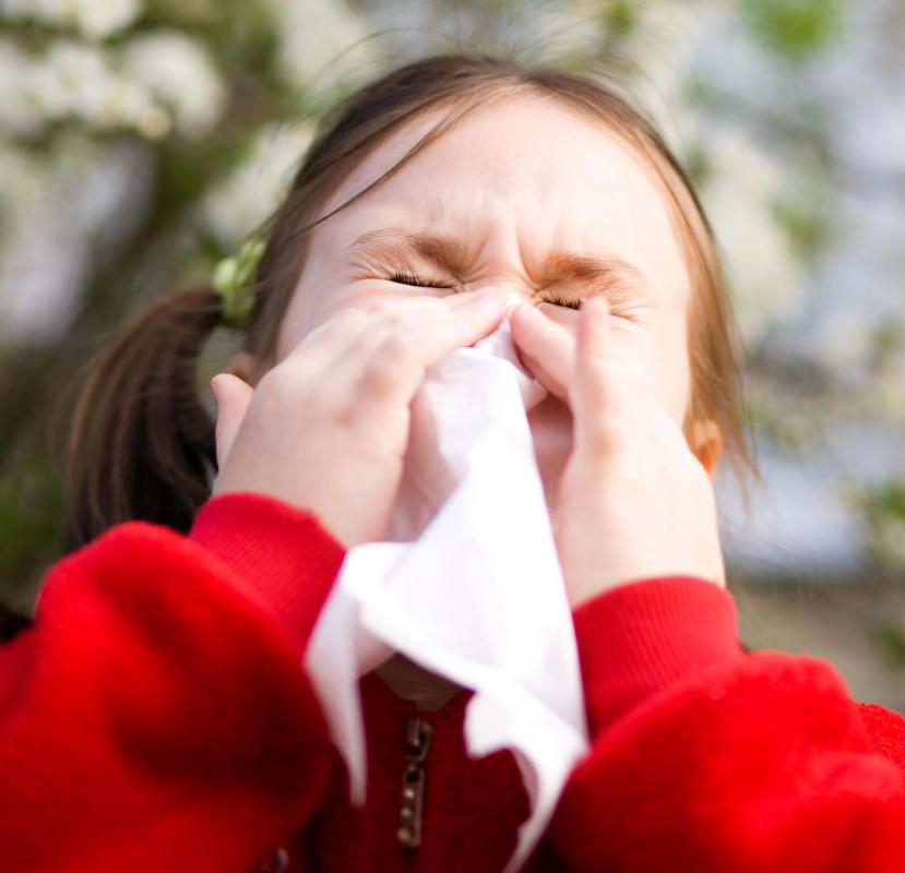 Children experiencing inflamed nasal and throat passages may be more susceptible to developing a secondary condition, such as pneumonia.