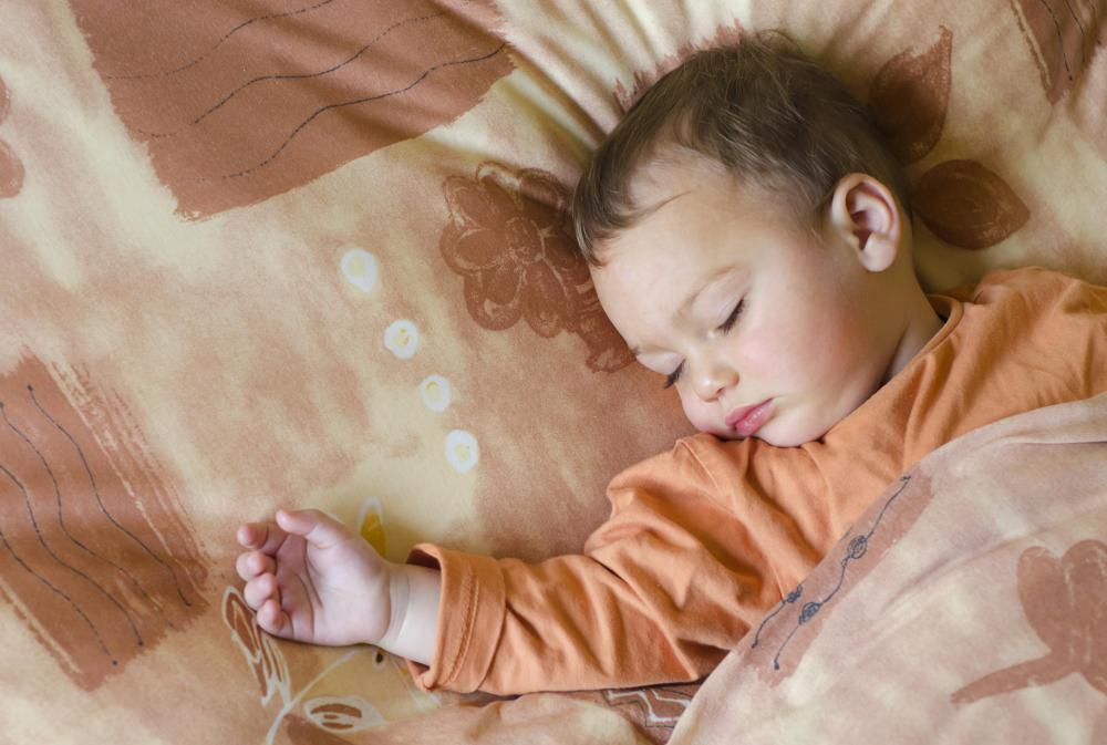 Toddler beds are some of the smallest bed sizes on the market.