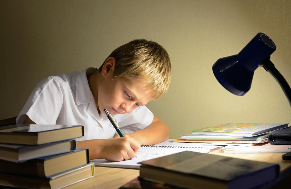 Some parents believe children should have no distractions from homework.