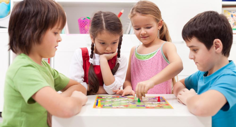 Board games for children are a type of cognitive game.