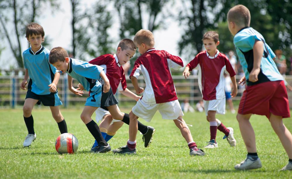 Parents should consider purchasing underwear made of synthetic moisture-wicking fibers for use under their children's soccer uniforms.