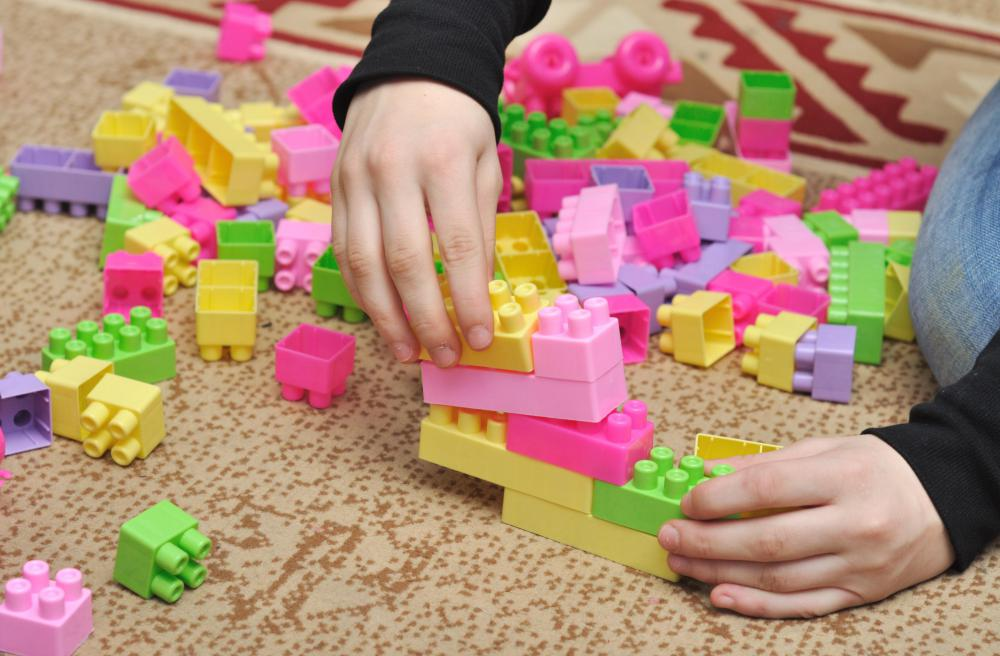 Children who enjoy building with blocks may have a talent for spatial-temporal reasoning.