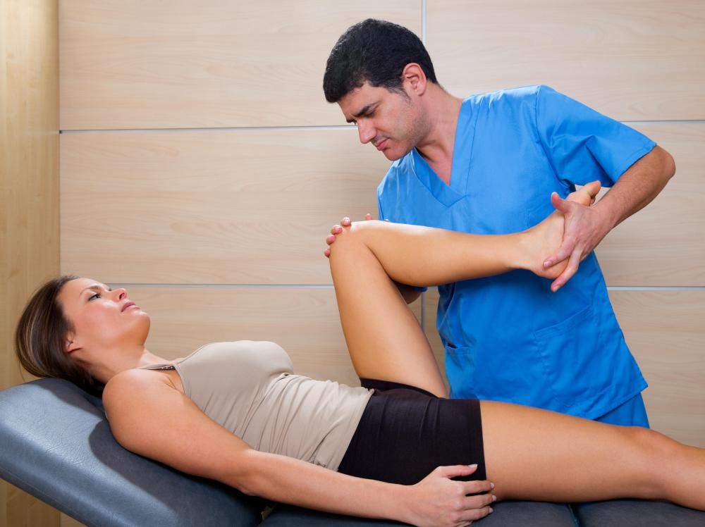 A chiropractor practices a type of holistic therapy.