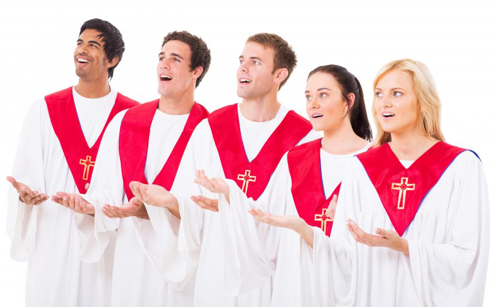Church choirs may use lining out in certain songs.