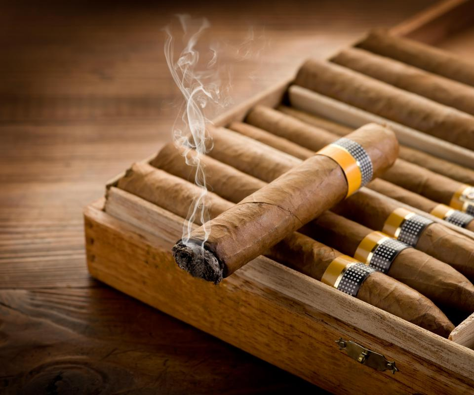 Real Cuban cigars should be well-rolled and of uniform length.