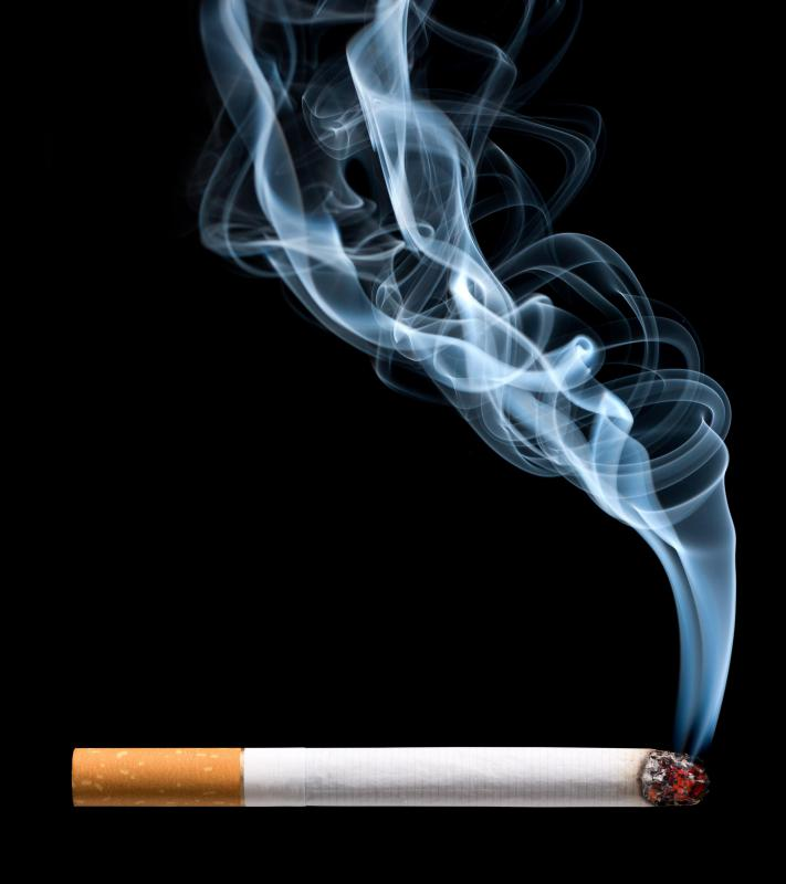 Habits like smoking can affect circulation in the extremities.