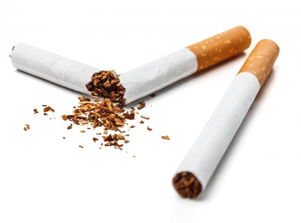 Smokers are at a higher risk of arteriosclerosis.