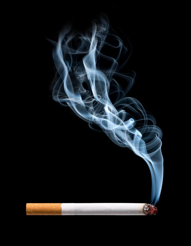 Smoking cigarettes can cause an intake of excess air, which leads to chronic gas.