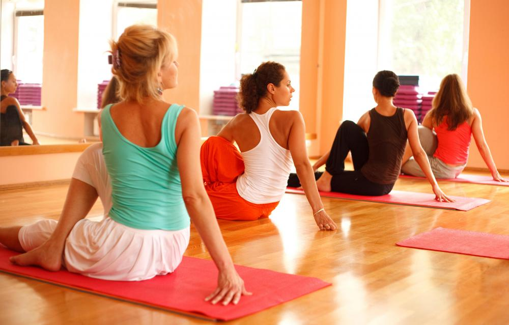 Yoga is often used in wellness therapy.