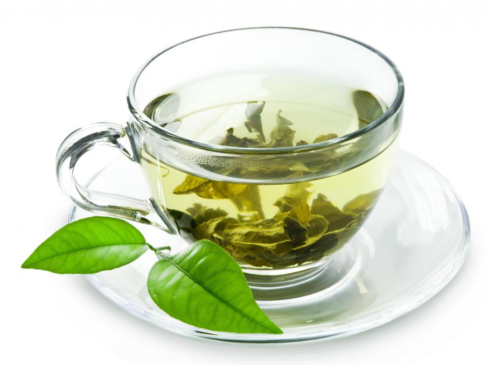 The BRATTY diet for diarrhea includes green tea.