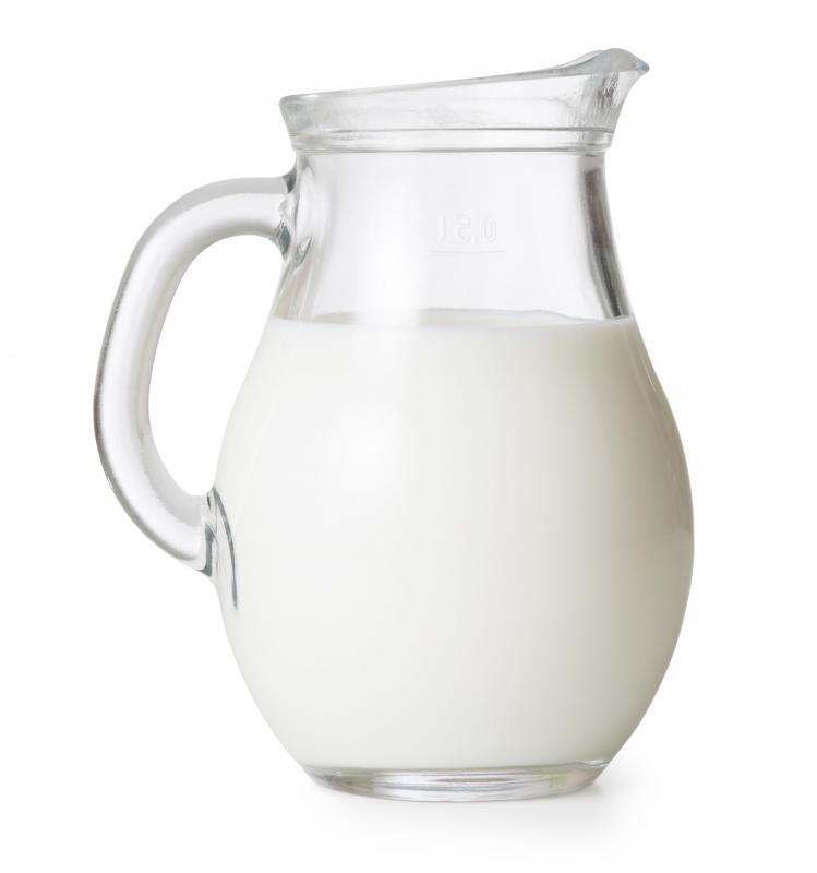 Phenylalanine can be found in milk.