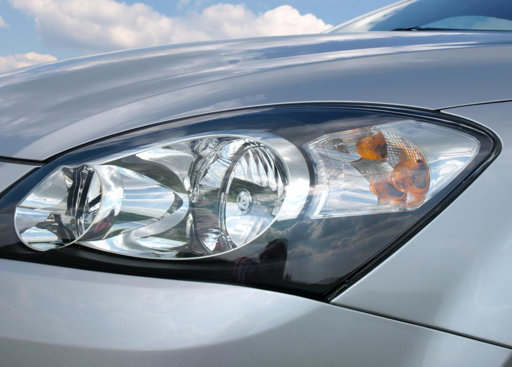 Concave mirrors are often used in headlights.