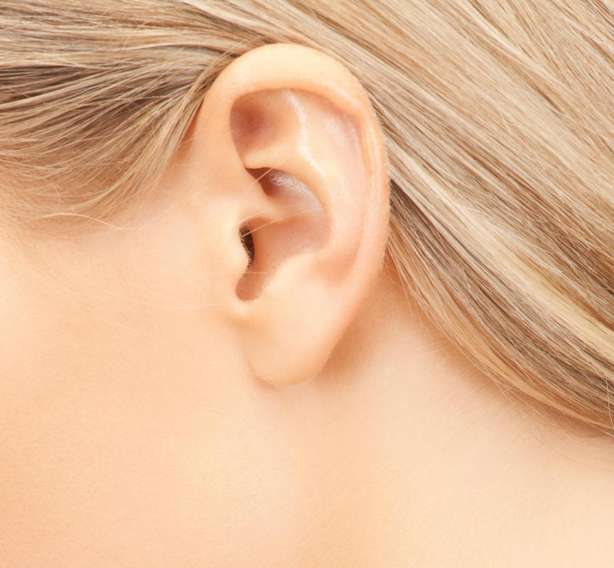 The upper portion of a person's ear does not need to be pierced to wear ear cuffs.