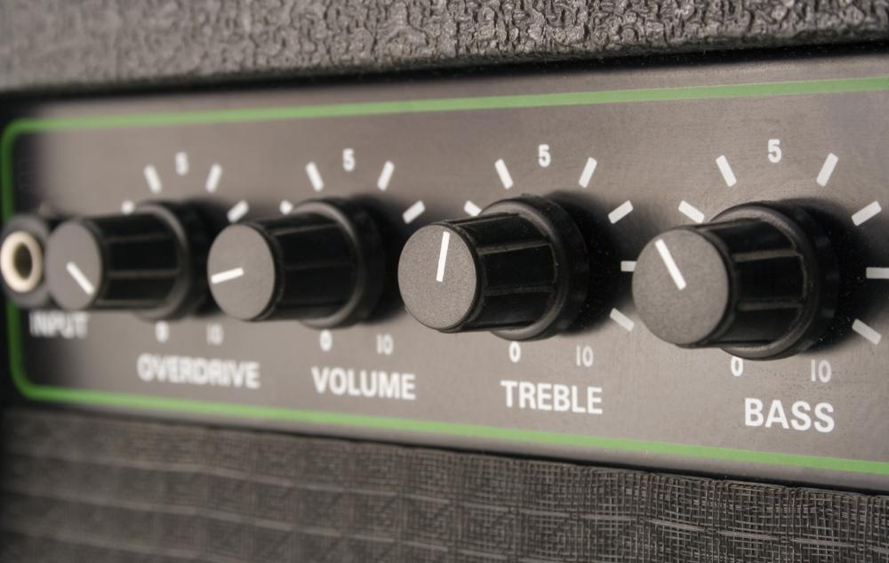 A drum machine can be played through an amplifier or PA during a live performance.