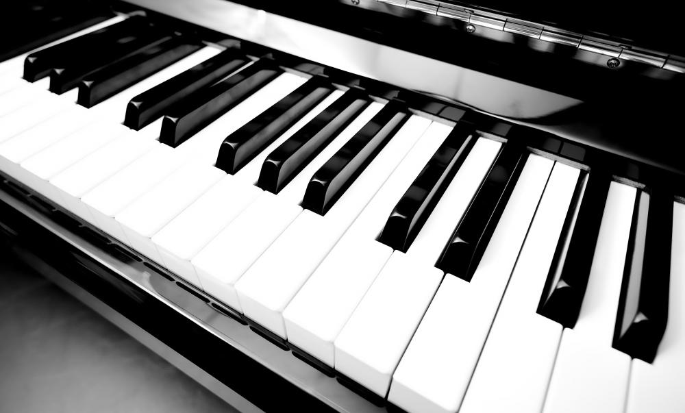 Reggae often features a simple keyboard beat.