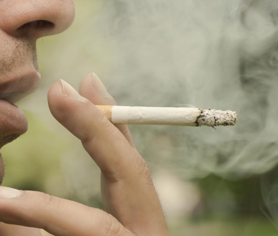 Smoking is the most common method of damaging the cilia.