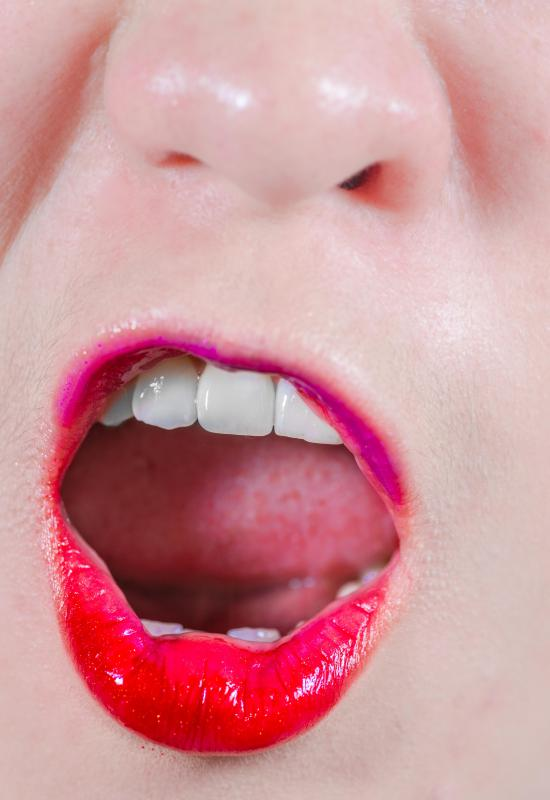 Taste receptors on the tongue detect flavors in food.