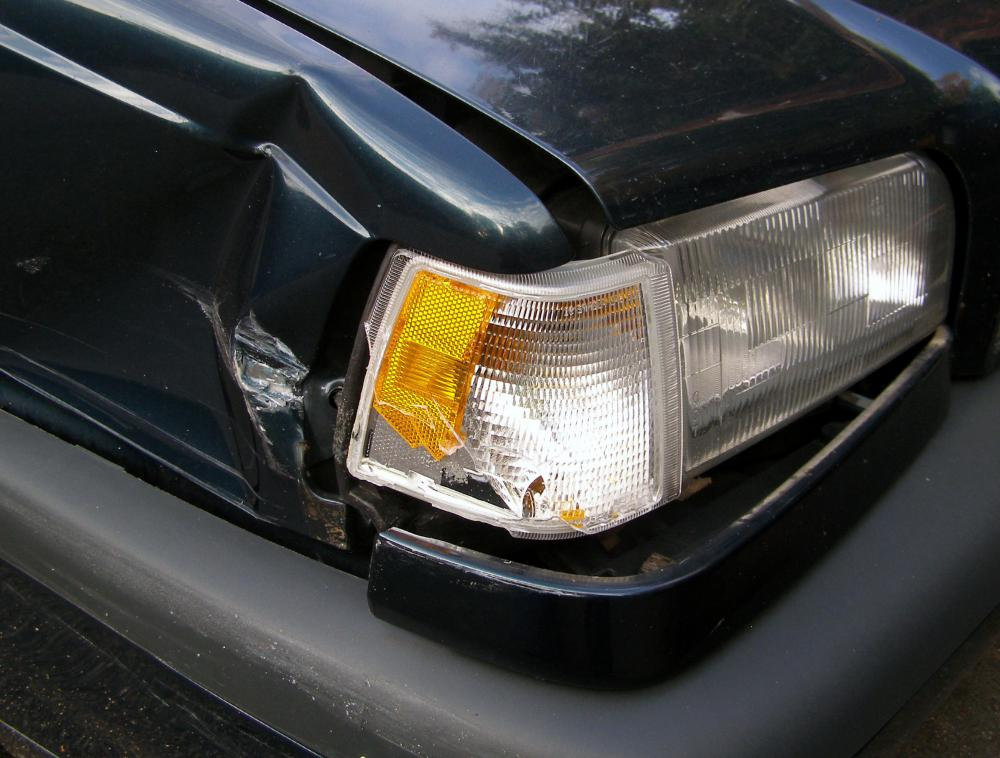 Driving with a broken headlight is one way to get a fix-it ticket.
