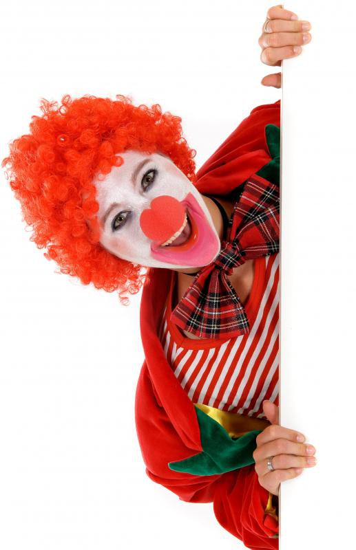 About 20 to 30% of people are afraid of clowns.