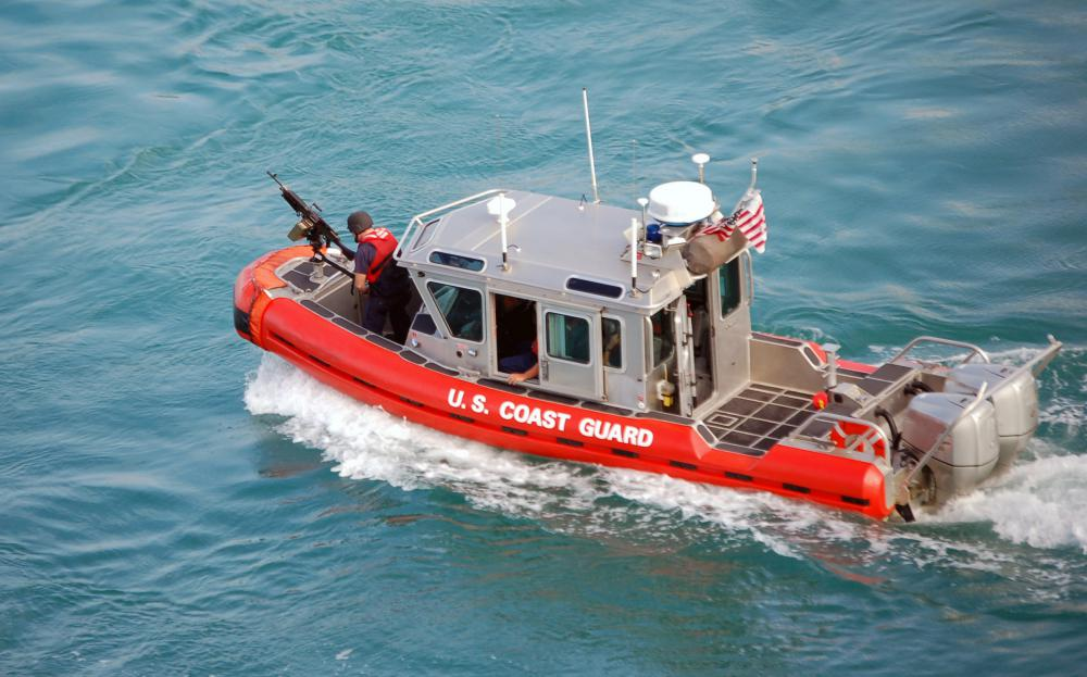 Because polystyrene floats, it is incorporated into the hulls of life rafts and vessels such as the U.S. Coast Guard's Defender class patrol boats.