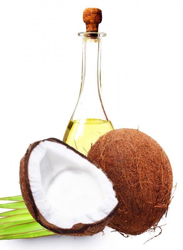 Capric acid, a fatty acid, is found in coconut oil.