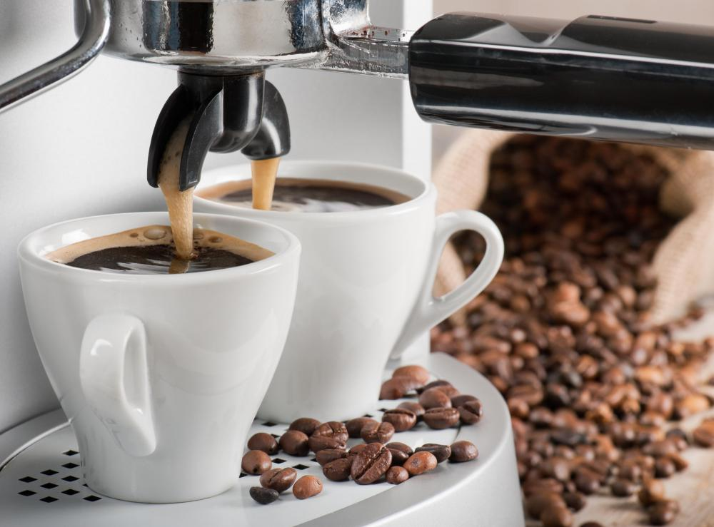 An espresso machine is a great gift idea.